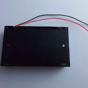 6 x AA Batteries Holder Case w/ Power Plug per Arduino