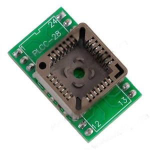 Convertitore Adattatore da PLCC28 a DIP24 compatibile Programmatori TL866