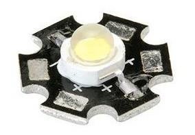LED 1W White with the Alluminio Radiator