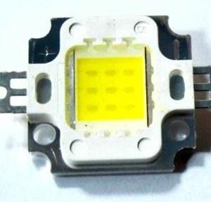 10W Warm White LED 900mA 900-1000LM 2900-3200K 120-140C Output Degree