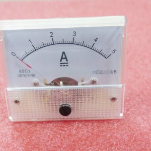 85C1 0-5A Analogico Panel AMP Current Meter Amperometro Gauge