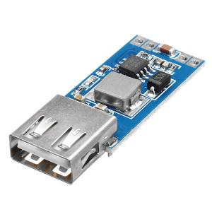 9V/12V/24V to 5VDC-DC Step-down Car Charger USB 3A Output Buck Regolatore Alimentatore