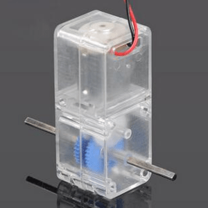 130 transparent robot gearbox Double Axis