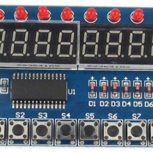 TM1638 Digitale 8Bit LED Tube 8 Keys Display Modulo for AVR Arduino ARM
