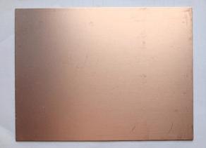 Single Size 20*20CM Fiberglass Laminate FR4 Copper Clad Circuit Board PCB Thick 1.4
