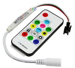 WS2812B LED Strip 5V IR Remote