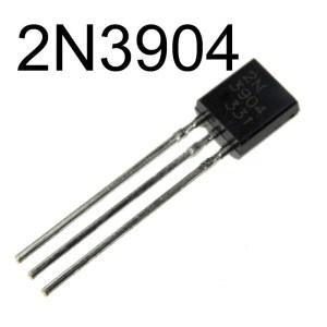 2N3904 Transistor Singolo Bipolare