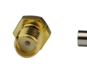 2 Pezzi Connettori SMA-K 1.5 Foro Interno