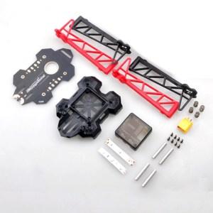 Hobby-Fun Happymodel HMF F250 250mm Ultraleggero Pieghevole 4 AssiRC Quadricottero Frame Kit