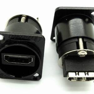 NEUTRIK HDMI high-definition video data interface socket NAHDMI-W Block