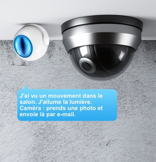 Fibaro Motion Sensor + Home Center + caméra = domotique intelligente