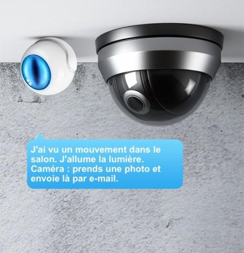 Fibaro Motion Sensor + Home Center + caméra = domotique intelligente