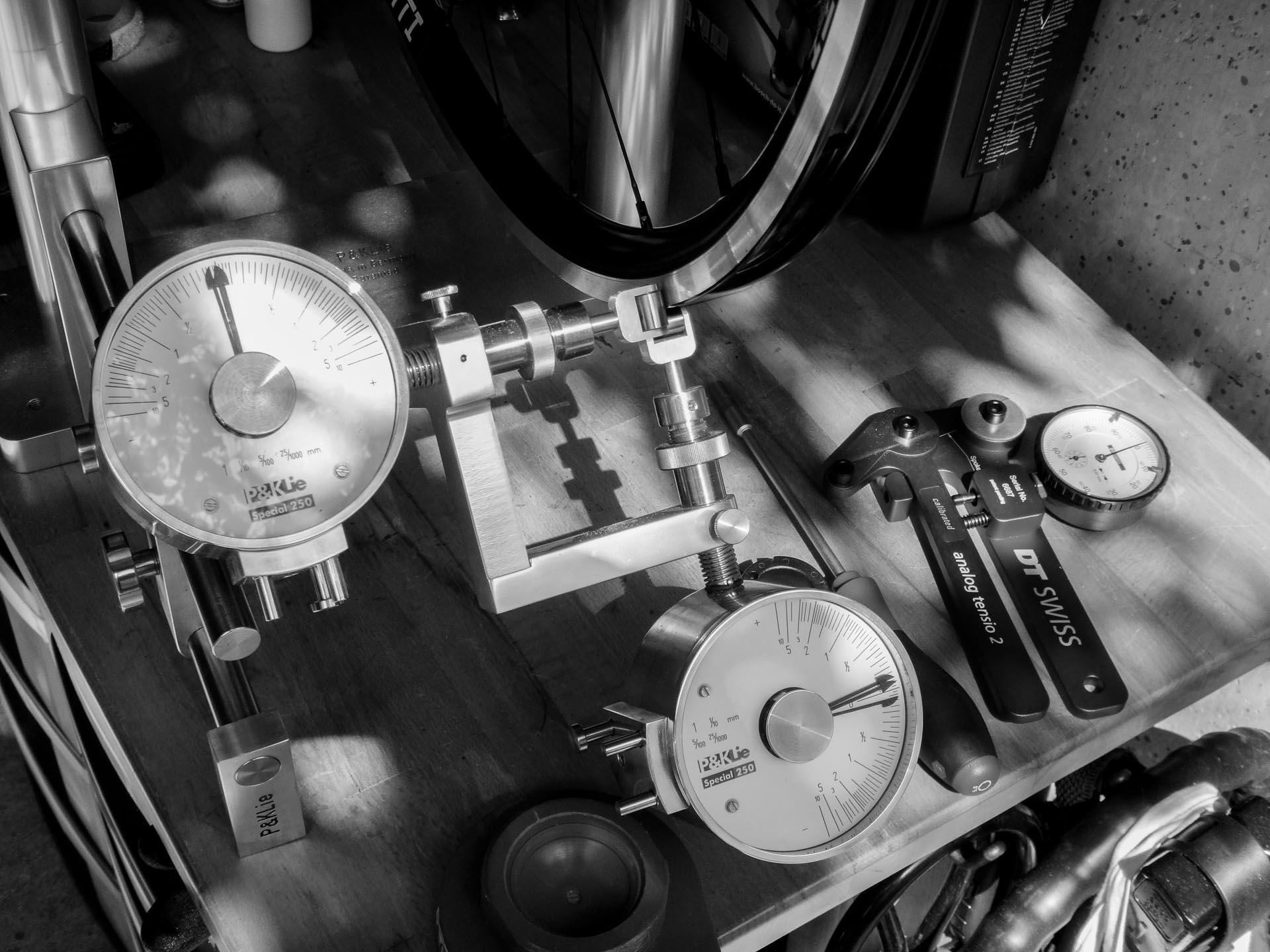 Fahrradbau-Werkstatt