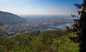 Blick auf Heidelberg