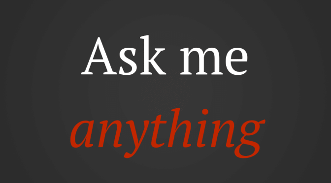 Ask me anything BDSM Dom sub