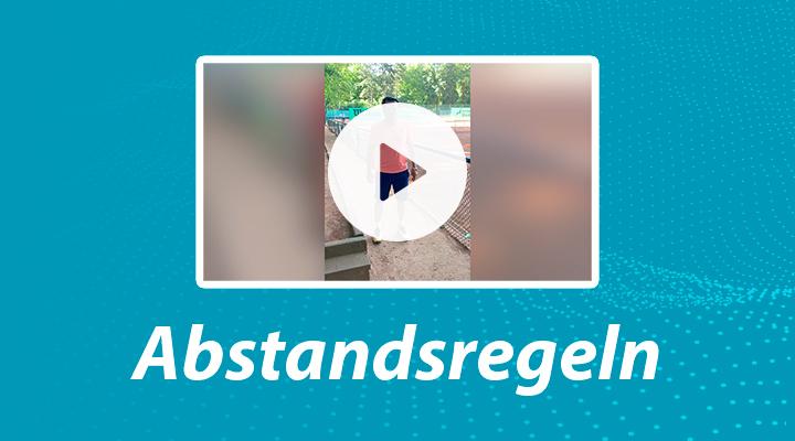 Abstandsregeln-Video