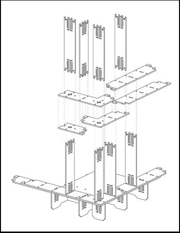 Imbinarea elementelor OSB la Cliphunt