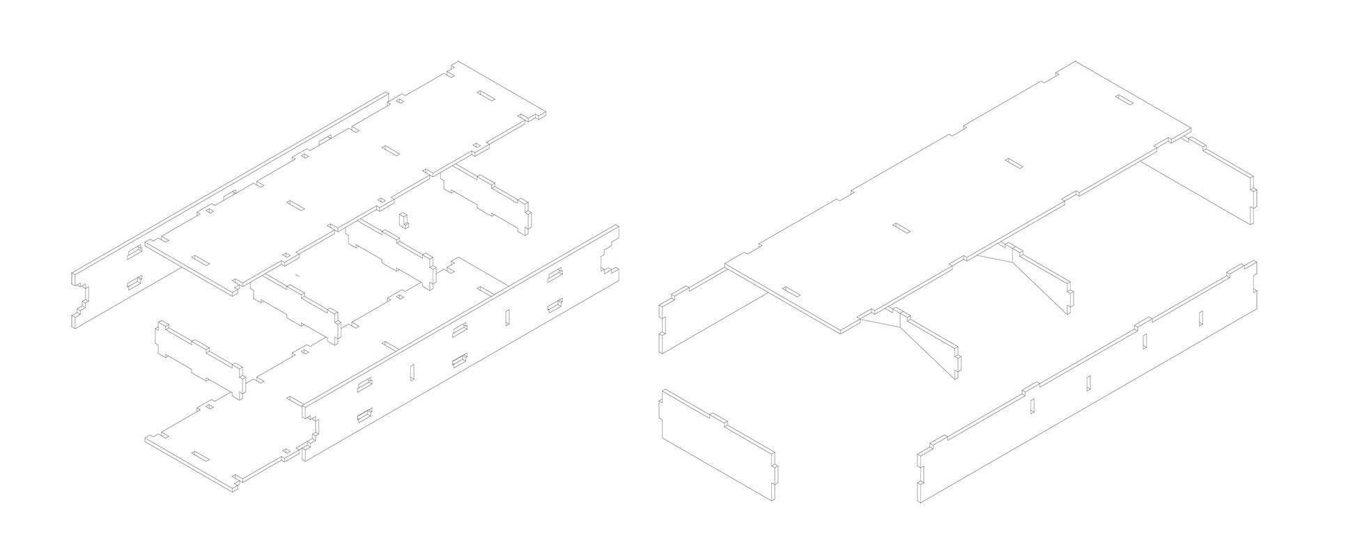 Imbinarea panourilor din placaj