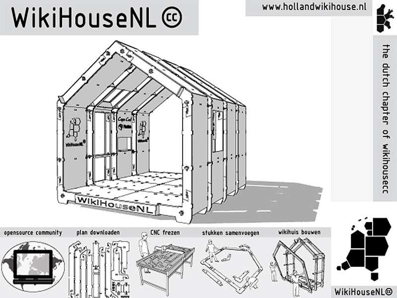Wikihouse casa prefabricata