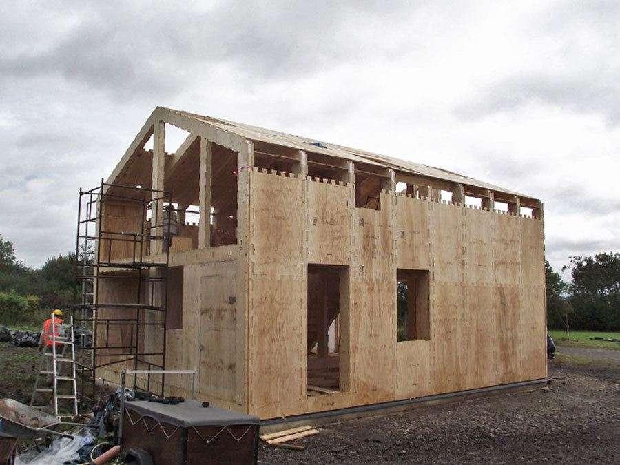 Wikihouse cu etaj