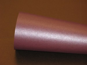 Stardream Ruby Metallic Cover Paper -- 8 1/2 x 11 -- By the Sheet