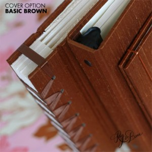 Brown Guest Book