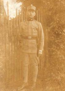 A German or Austrian soldier