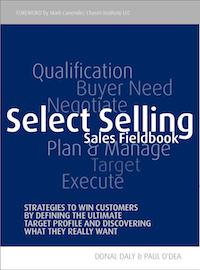 Select Selling Sales Fieldbook