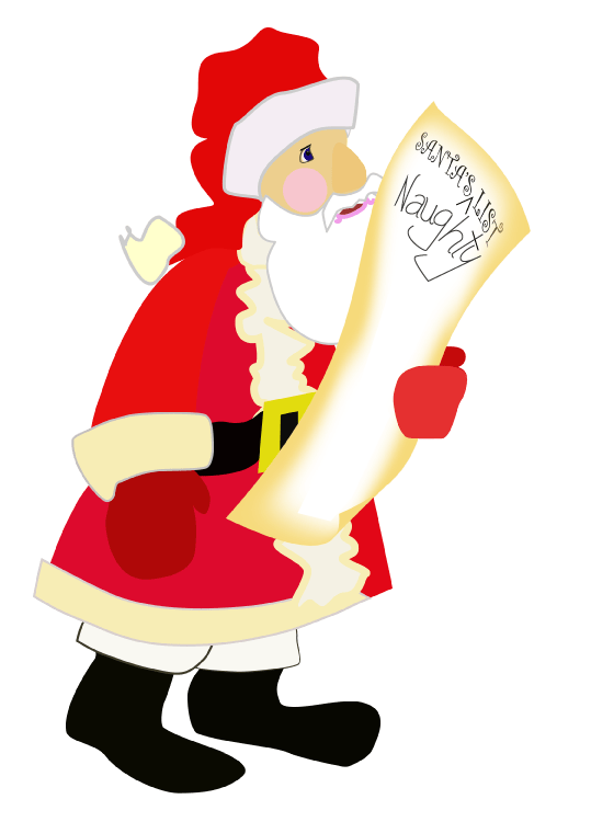 Santa's Naughty List from the public arena of politics and the press