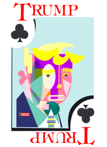 Trump card in the suite of Clubs