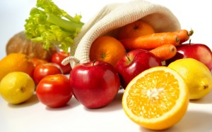 Eating more fruits and tomatoes is healthy.