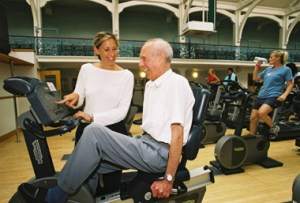 Greater activity levels possible with loved ones