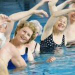 water exercise may help shortness of breath due to reduction in opioids