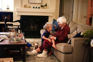 Grandparenting associated with greater physical activity in COPD