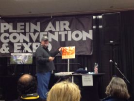 Demoing at the convention
