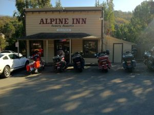 Alpine Inn on Alpine Road, Portola Valley