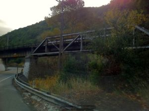 Train Trestle in Niles Canyon.