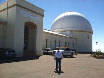 At Lick Observatory