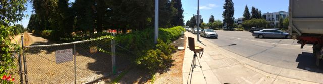 A Pano on the corner of DeAnza Blvd and the I280 ramp.
