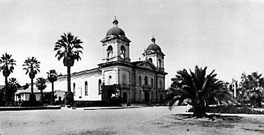 Mission Santa Clara around 1910