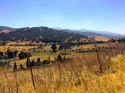 Almaden Valley from Country View Dr