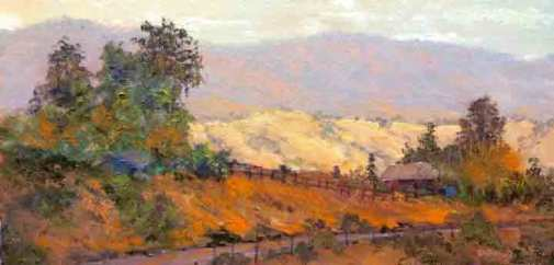 Morning on Metcalf Rd, 8x16
