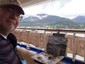 The scene in Juneau