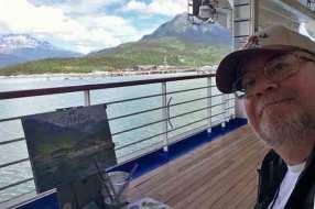 Selfie in Skagway