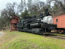 I stopped by the Yosemite Railroad exhibit in El Portal for the first time. In the old days, this is the way you got to Yosemite.