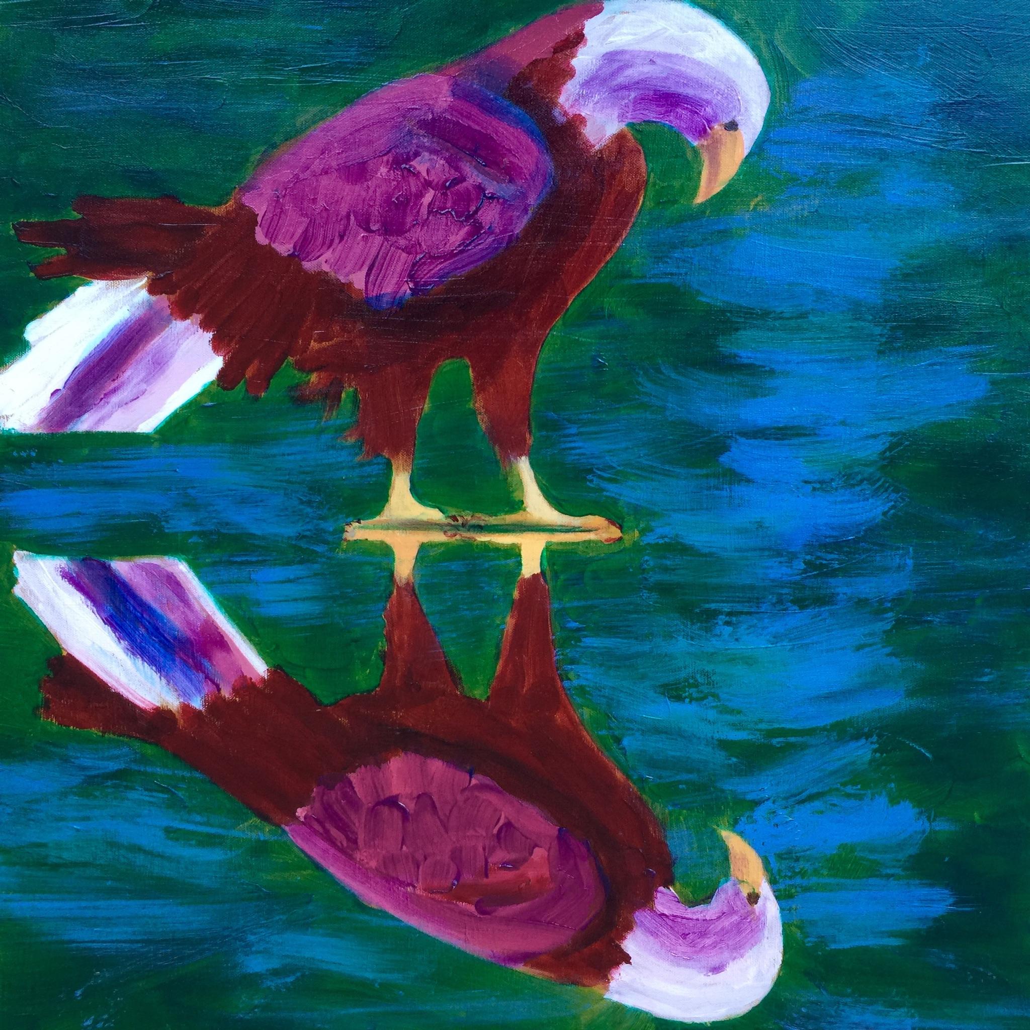 Eagle - - Original for Sale - Prints Available