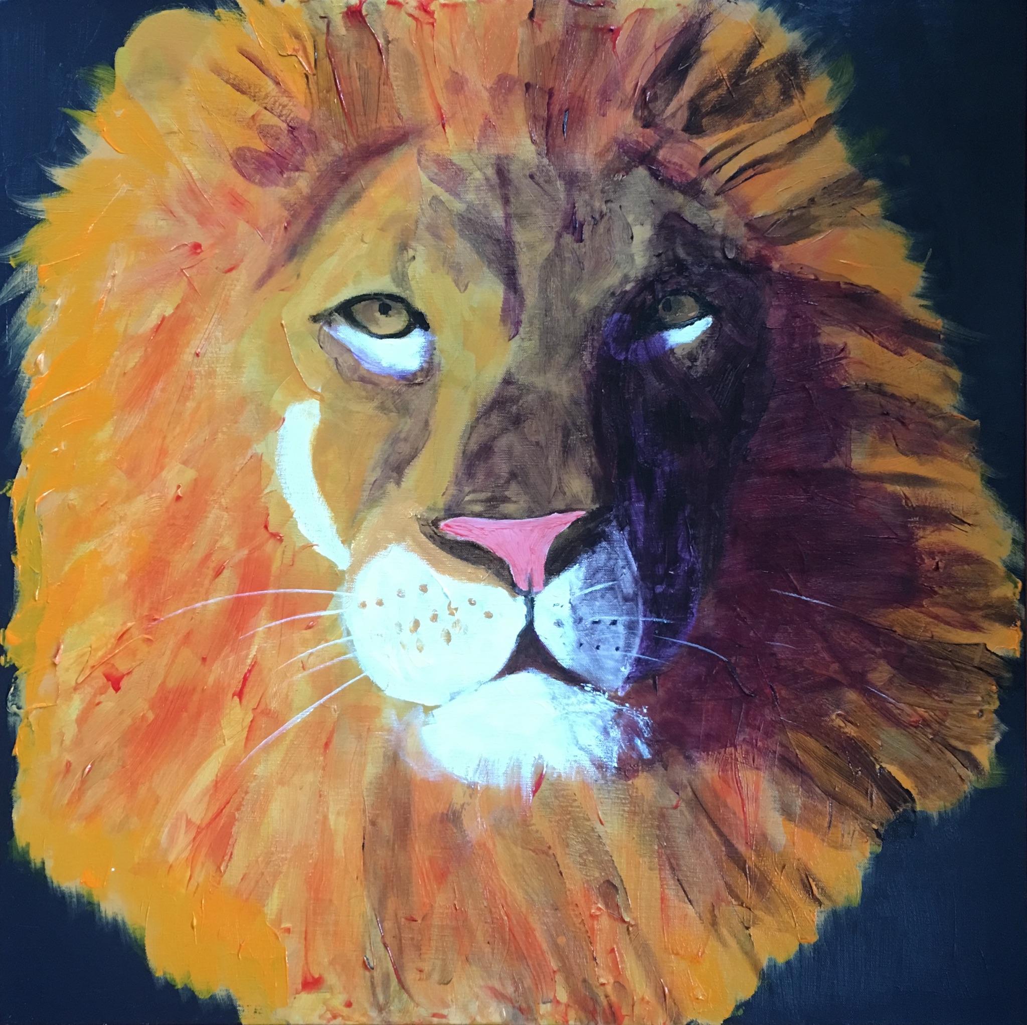 Lion King - - Original for Sale - Prints Available