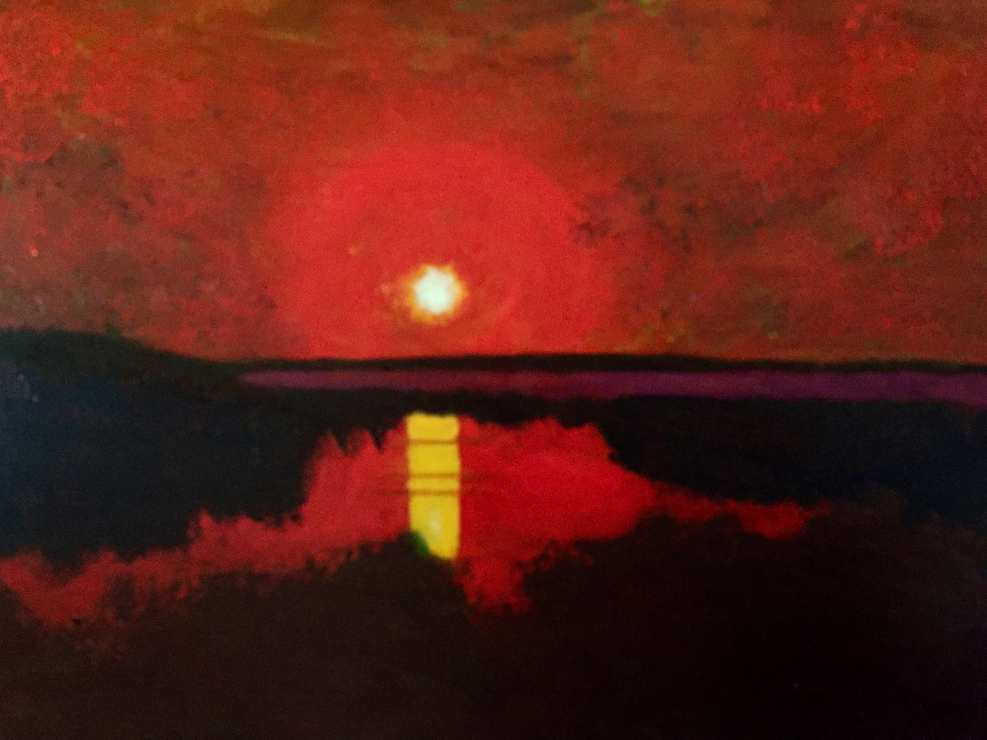Sunset on the Lake - SOLD - Prints Available