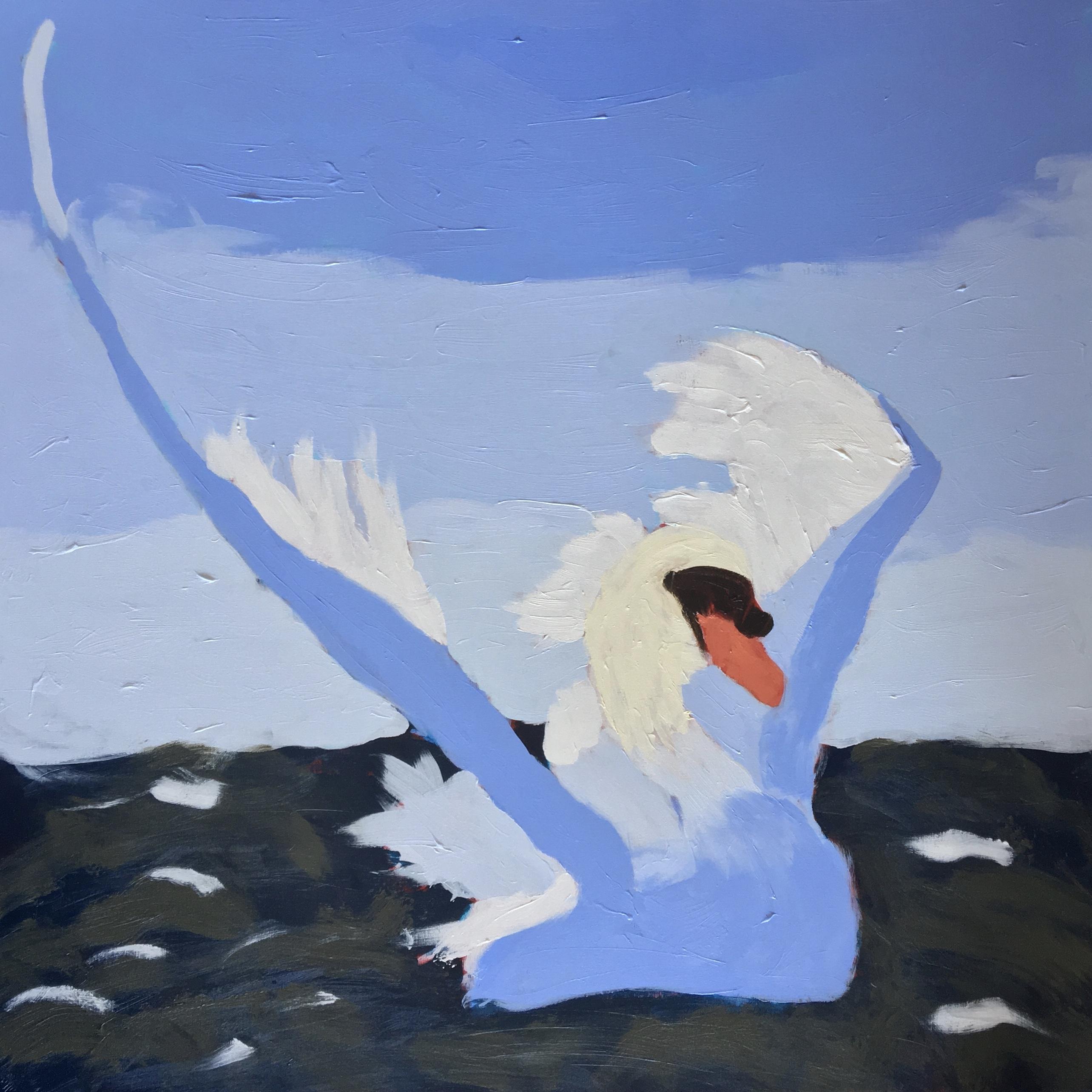 Swan 40 x 40 x 1.5 Original For Sale