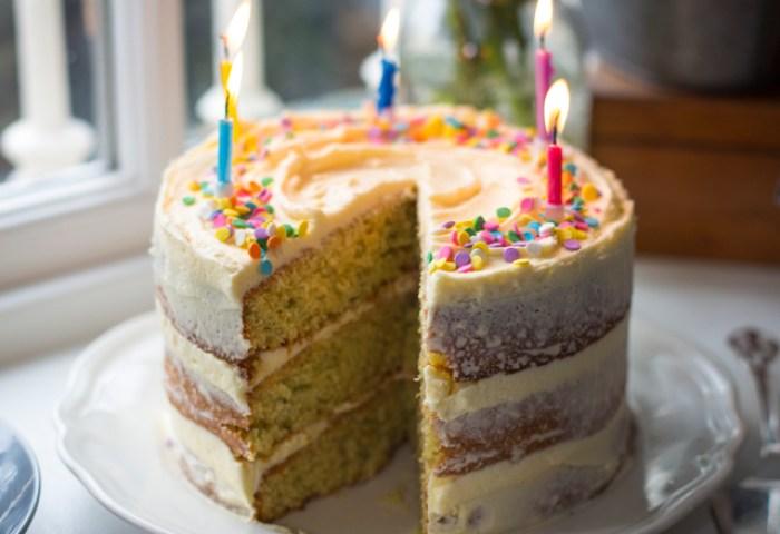 Donal Skehan Ultimate Sprinkles Birthday Cake